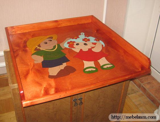 Все...  Я вот сделал пеленальный столик для ребенка своими руками.  Может кому пригодится мой опыт.