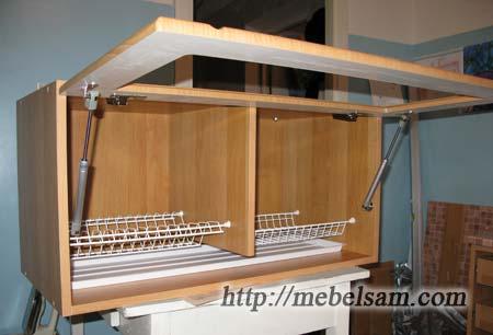 Изготовление мебели . Подвесной кухонный шкаф