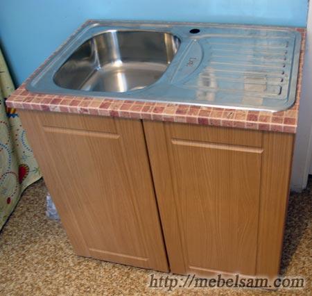 Изготовление мебели, кухонная мойка