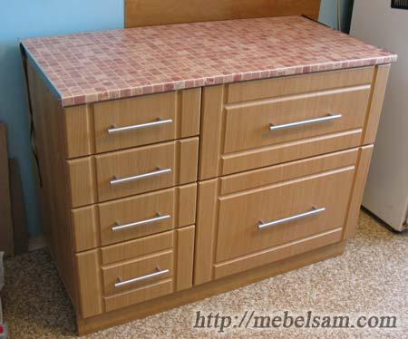 Рабочий стол для кухни. Изготовление мебели