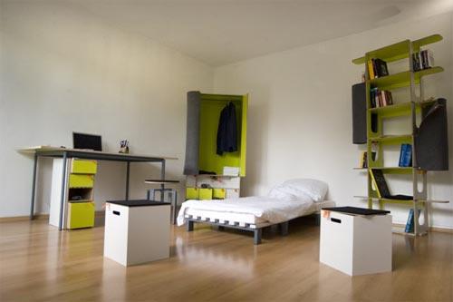 Casulo - полный комплект мебели для комнаты