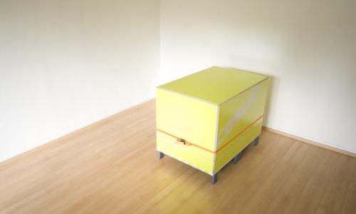 Casulo полный комплект мебели для комнаты в одном ящике