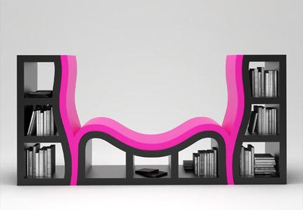 Сonsole bookshelf, Станислав Кац, 2007год