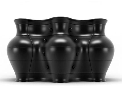4 Vase Cabinet, Станислав Кац, 2007год