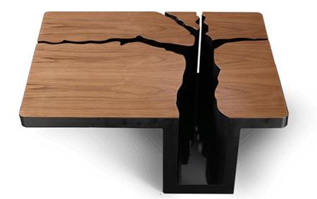 """кофейный столик """"Stink"""" дизайнеров Link Studios"""