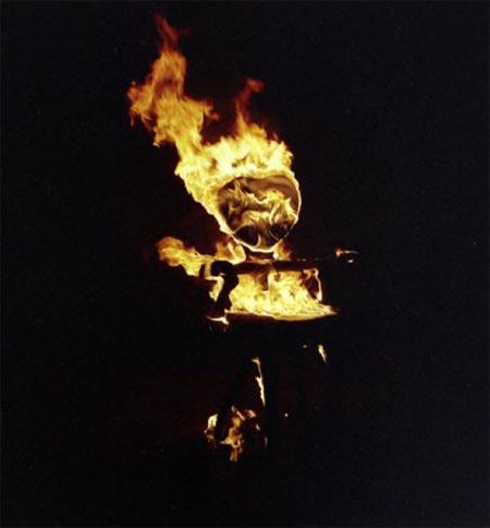 Процесс обжига