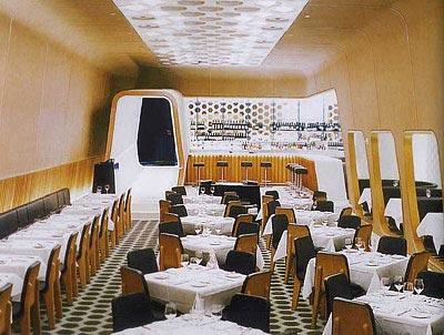 Марк Ньюсон, Ресторан Lever House в Нью-Йорке, 1989год
